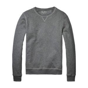 Ten-Fifteen-2019-felpa-girocollo-grigio-melange